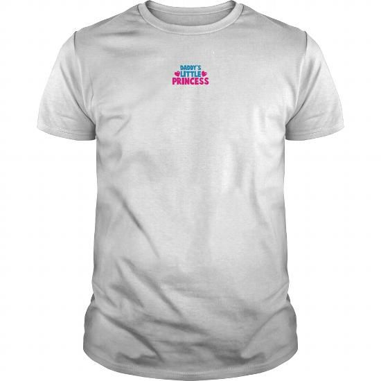 Cool DADDYS LITTLE PRINCESS WITH LOVE HEARTS T shirts