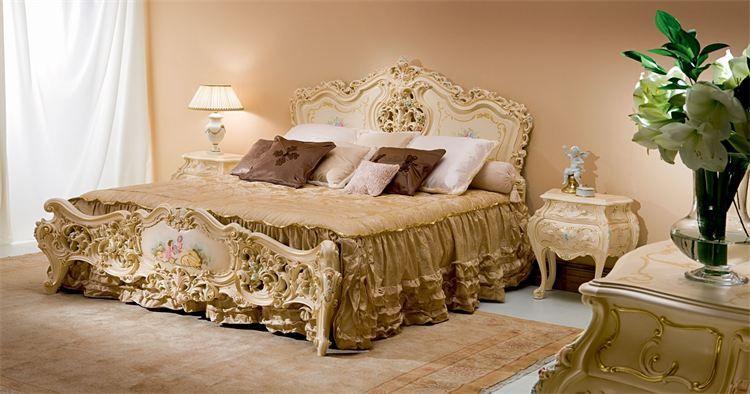 Venezianisches Möbelparadies - Barock Schlafzimmer | Ideen Rund