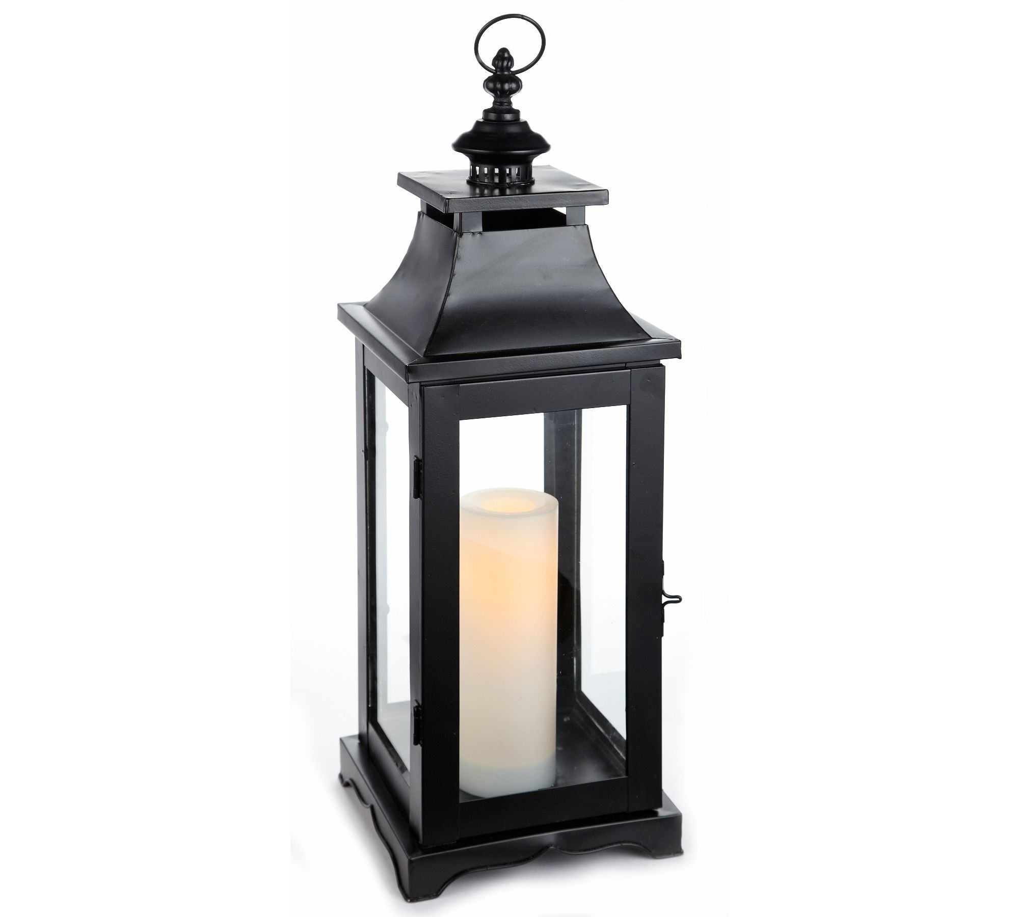 Canadian Tire Battery operated lanterns, Front porch