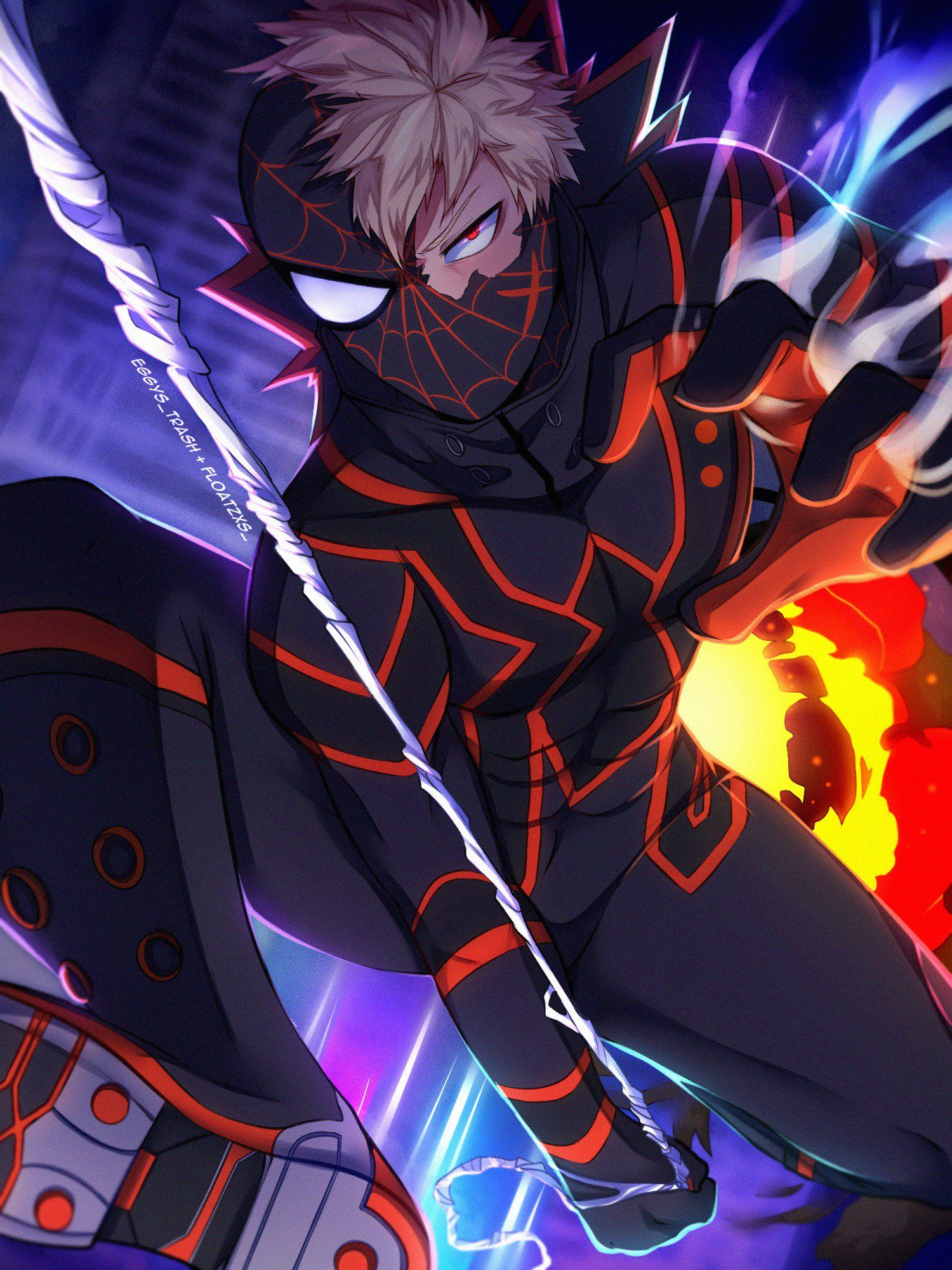 rica hiatus&school 🐿️ on Anime crossover, My hero, My