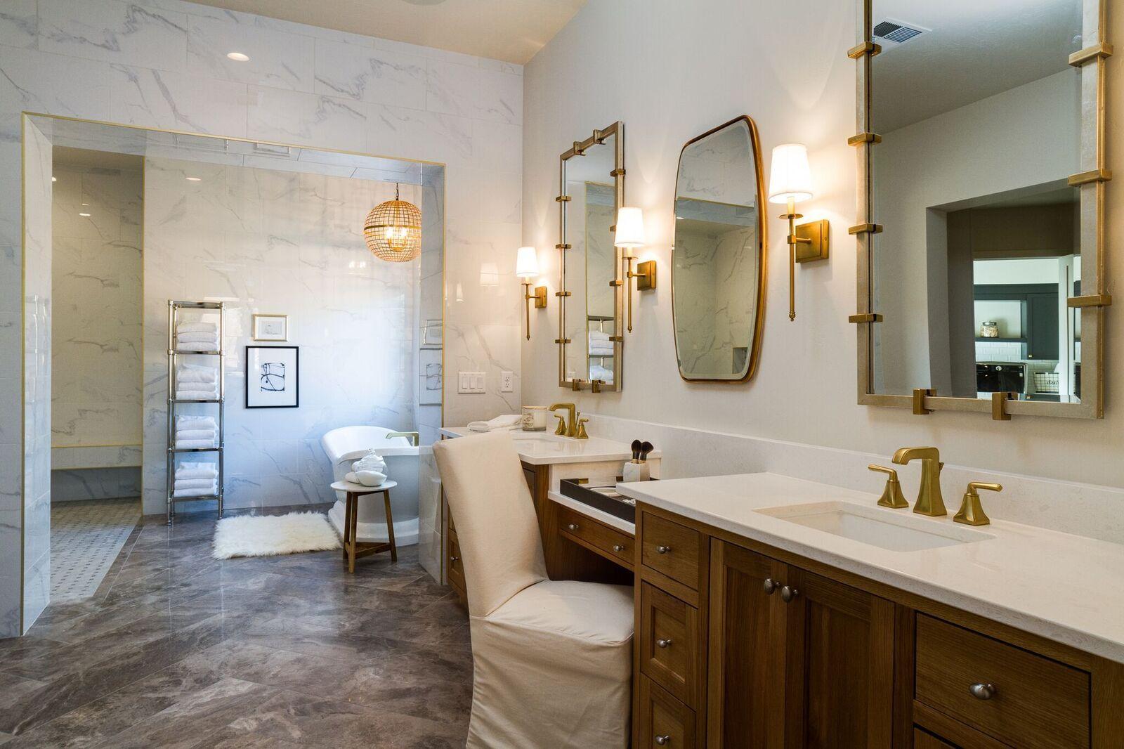 Bathrooms by S&S Homes, St George, Utah. Southern Utah's ...
