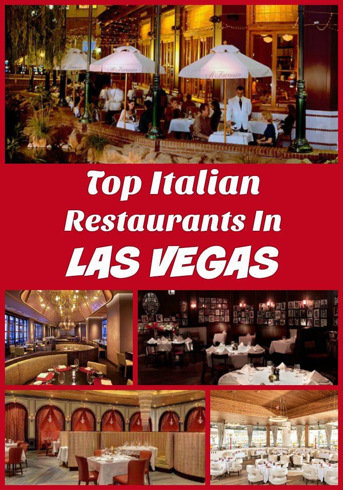 Top Ten Las Vegas Italian Restaurants In 2019 Vacation