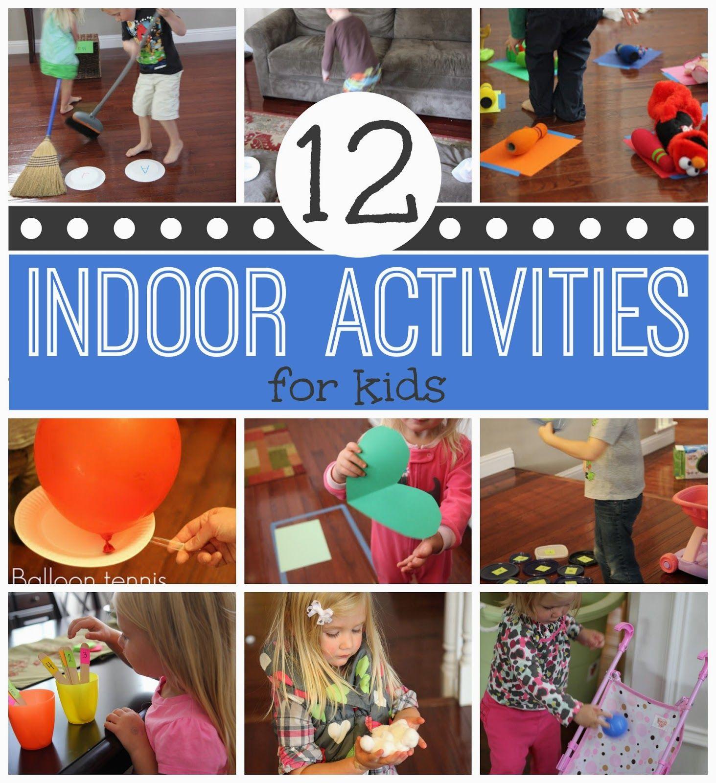 12 active indoor activities for kids indoor activities for Indoor play activities