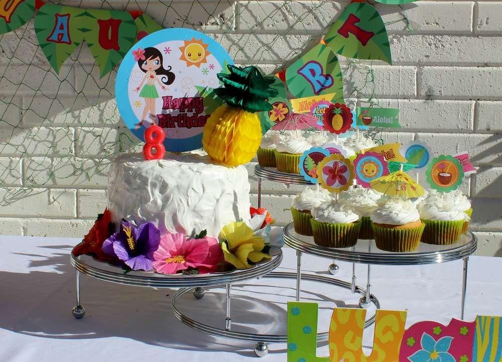Luau / Hawaiian Birthday Party Ideas | Party ideas theme