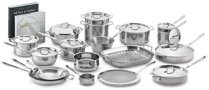 All-Clad Copper Core Ultimate 30-Piece Cookware Set