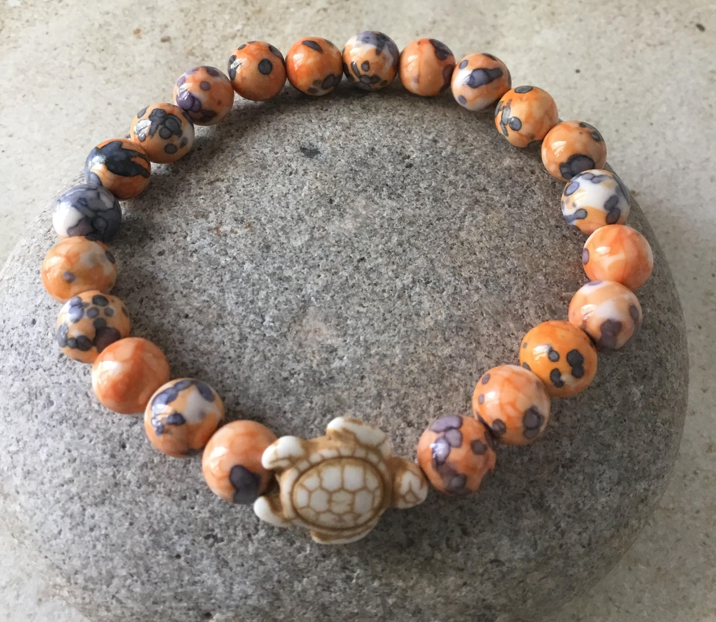 turtle i bracelet planet stone size from bead full sea love things p peace
