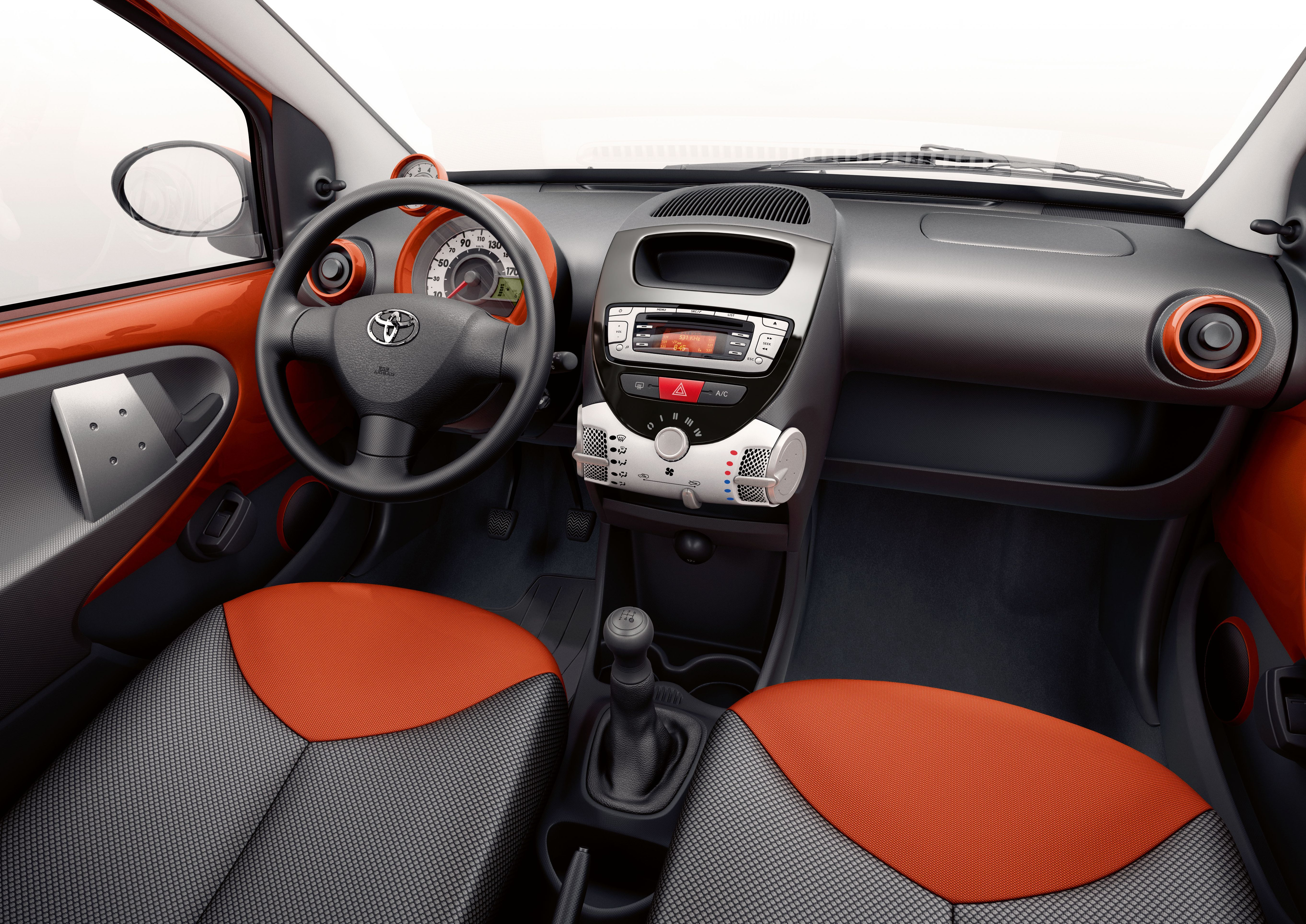 Toyota Aygo Red Interior For The Book Toyota Aygo Toyota Red Interiors