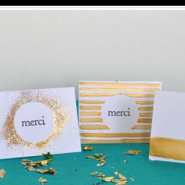 DIY thank you cards... Camillestyles.com