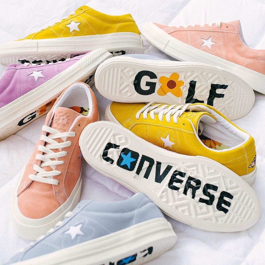 183ca6b0b9c8 It s coming. The  Converse One Star X Golf Le Fleur collection from ...