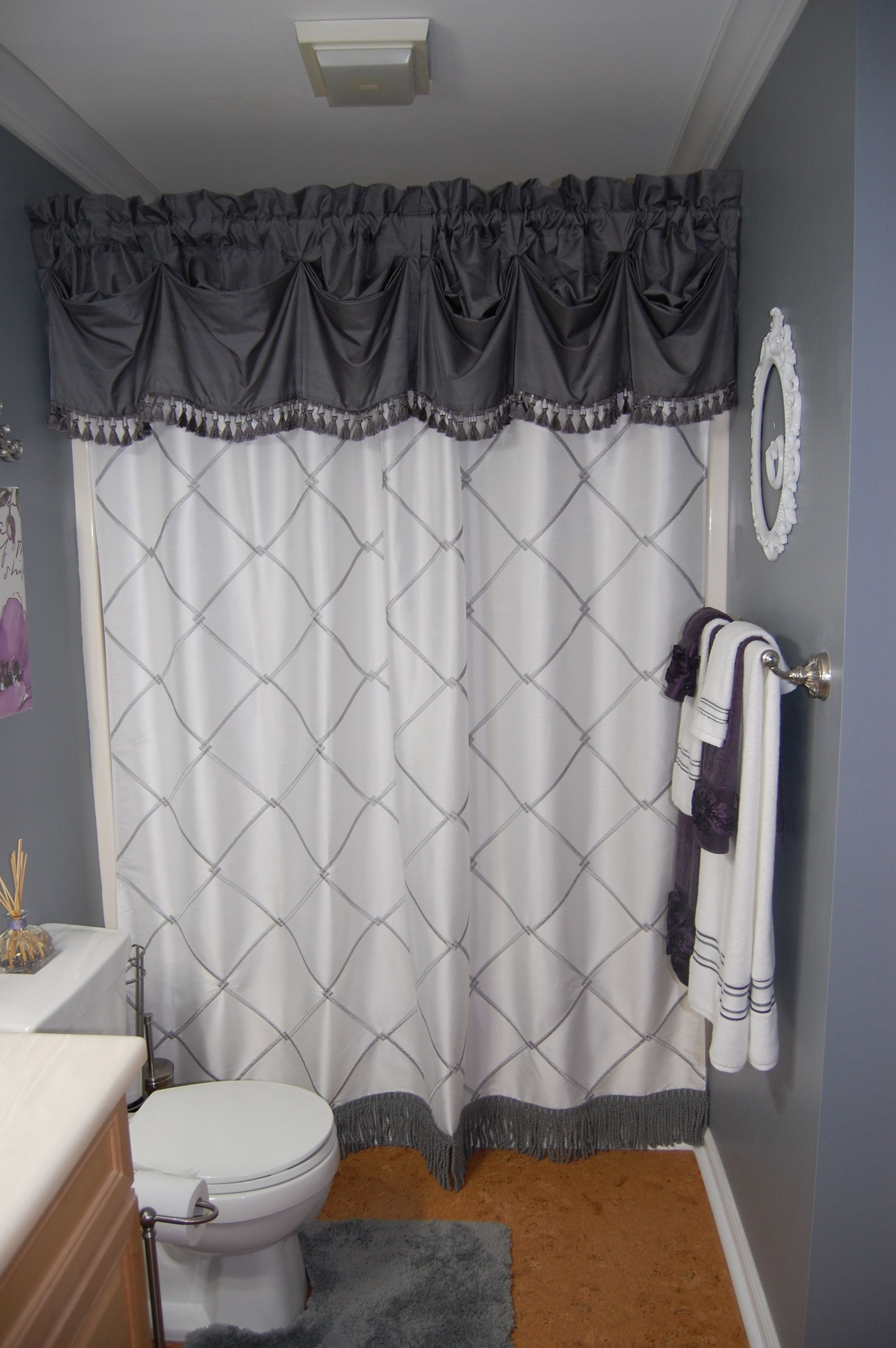 L M Cline S Llc New Shower Curtain And Valance Towels