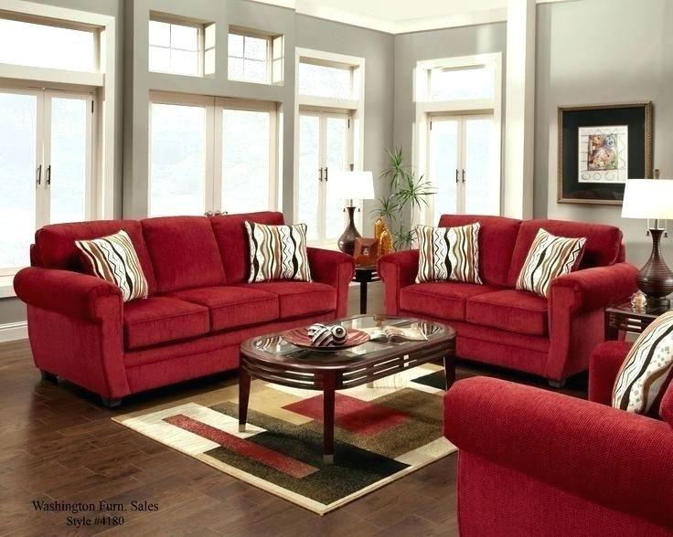Shiny red leather sofa design ideas Photos, idea red ...