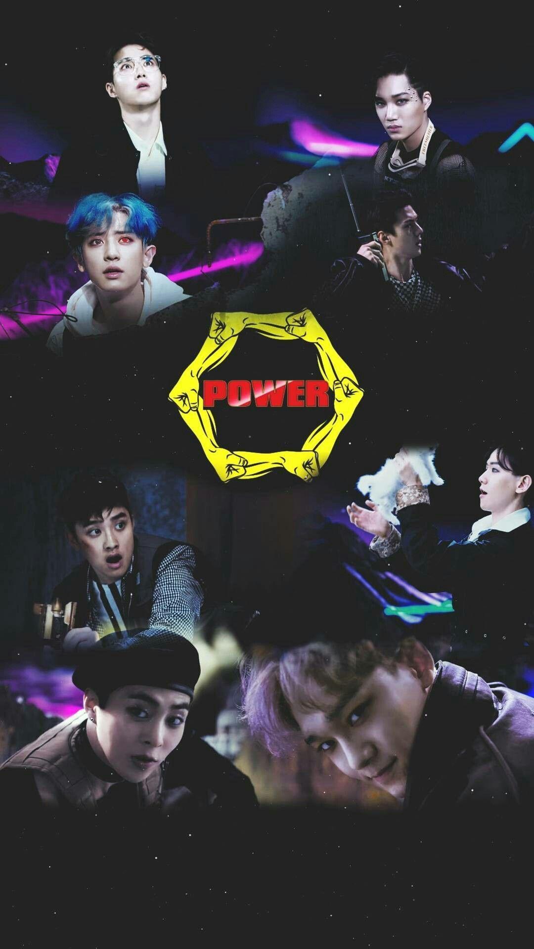 Exo power wallpaper exo exo exo kokobop ve kpop exo - Exo background ...