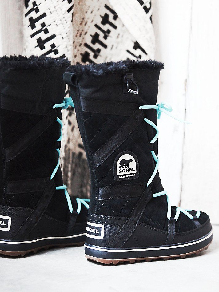 b23f6c05013 Sorel Glacy Explorer Tall Weather Boot at Free People Clothing Boutique