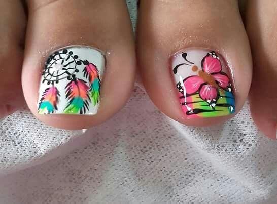 Dream Catcher Nail Art Toe Nail Art Design Ideas Nail Art
