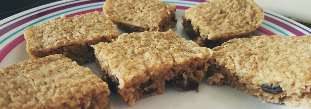 Slimming World Cinnamon Oat Bites - Perfect Traybake or Breakfast (3.5 syns for the lot with Healthy B)
