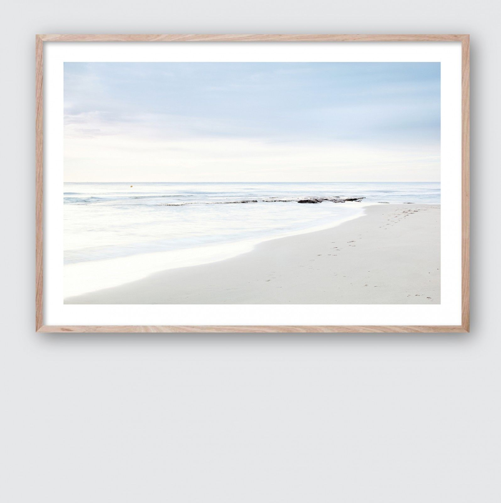 kunstdrucke sea shell print 1 beach
