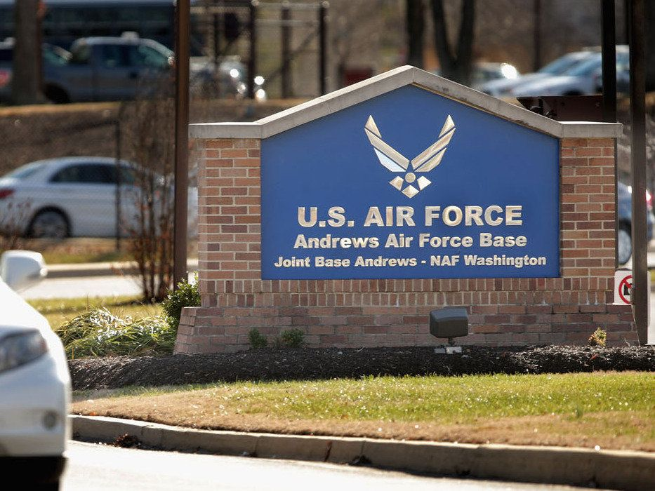 Lockdown lifted at U.S. base near Washington, no threat