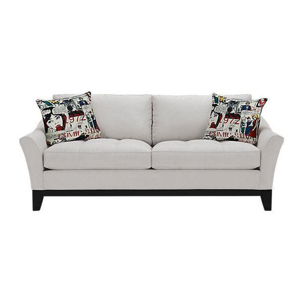 Cindy Crawford Home Newport Cove Platinum Sofa Liked On