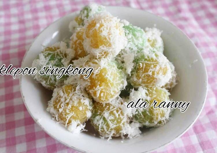 Resep Klepon Singkong Oleh Ranny Tanudibrata Resep Resep Kue Aneka Kue