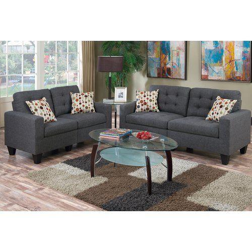 Super Amia 2 Piece Living Room Set Matt Drew Sofa Loveseat Ncnpc Chair Design For Home Ncnpcorg