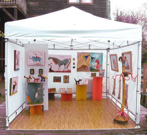 10 Unique Art Show Displays. Vendor BoothBooth IdeasDisplay ... & 10 Unique Art Show Displays | Display Unique and Booth ideas