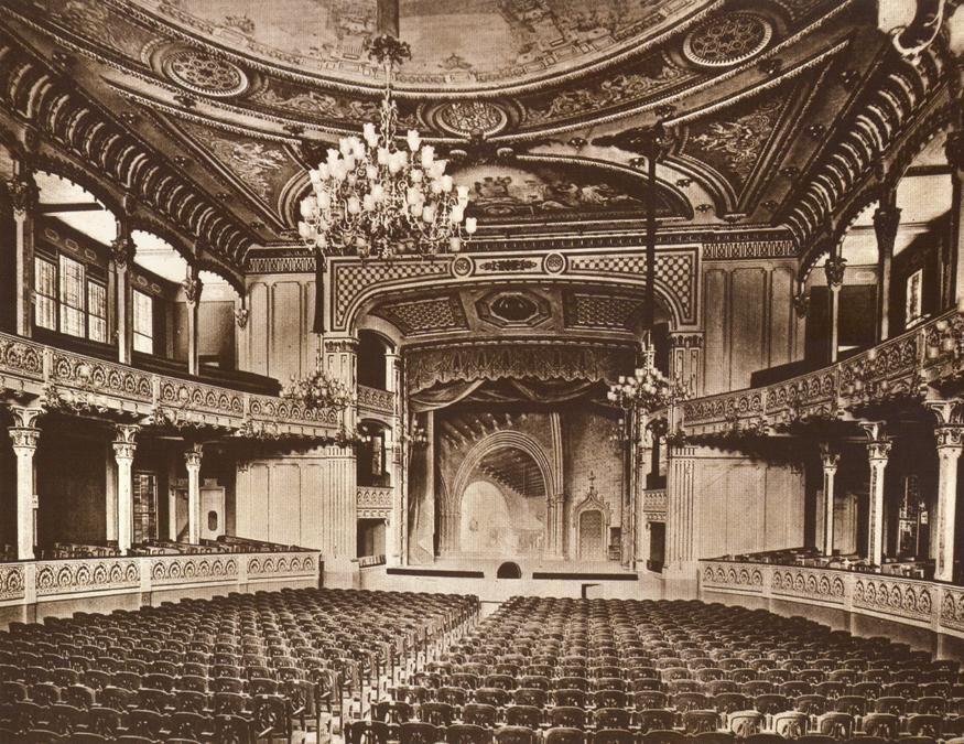 Gran Teatro Cervantes, Tanger. Diego Jiménez  Armstrong, 1913