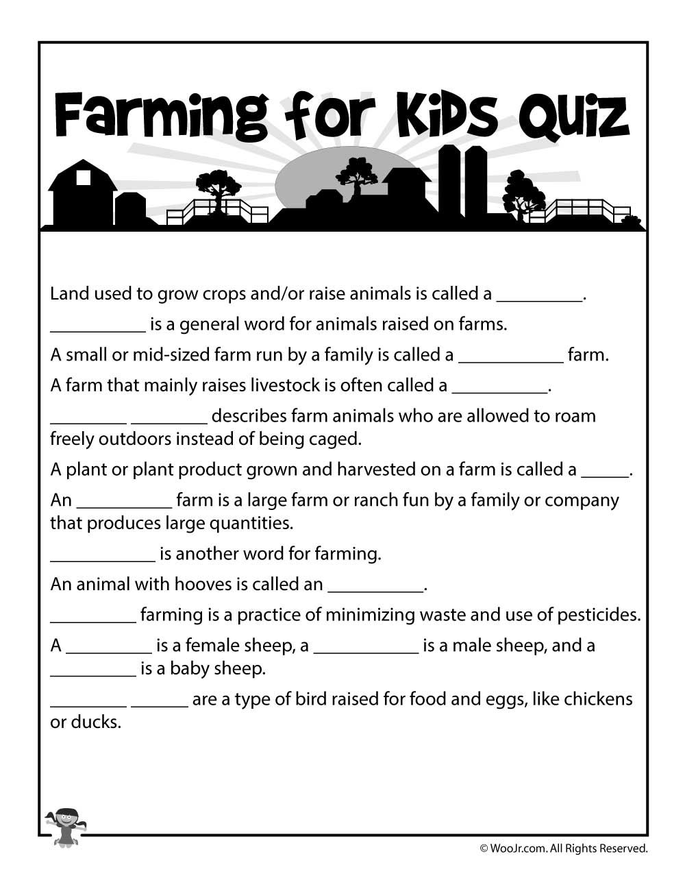 list of farming activities