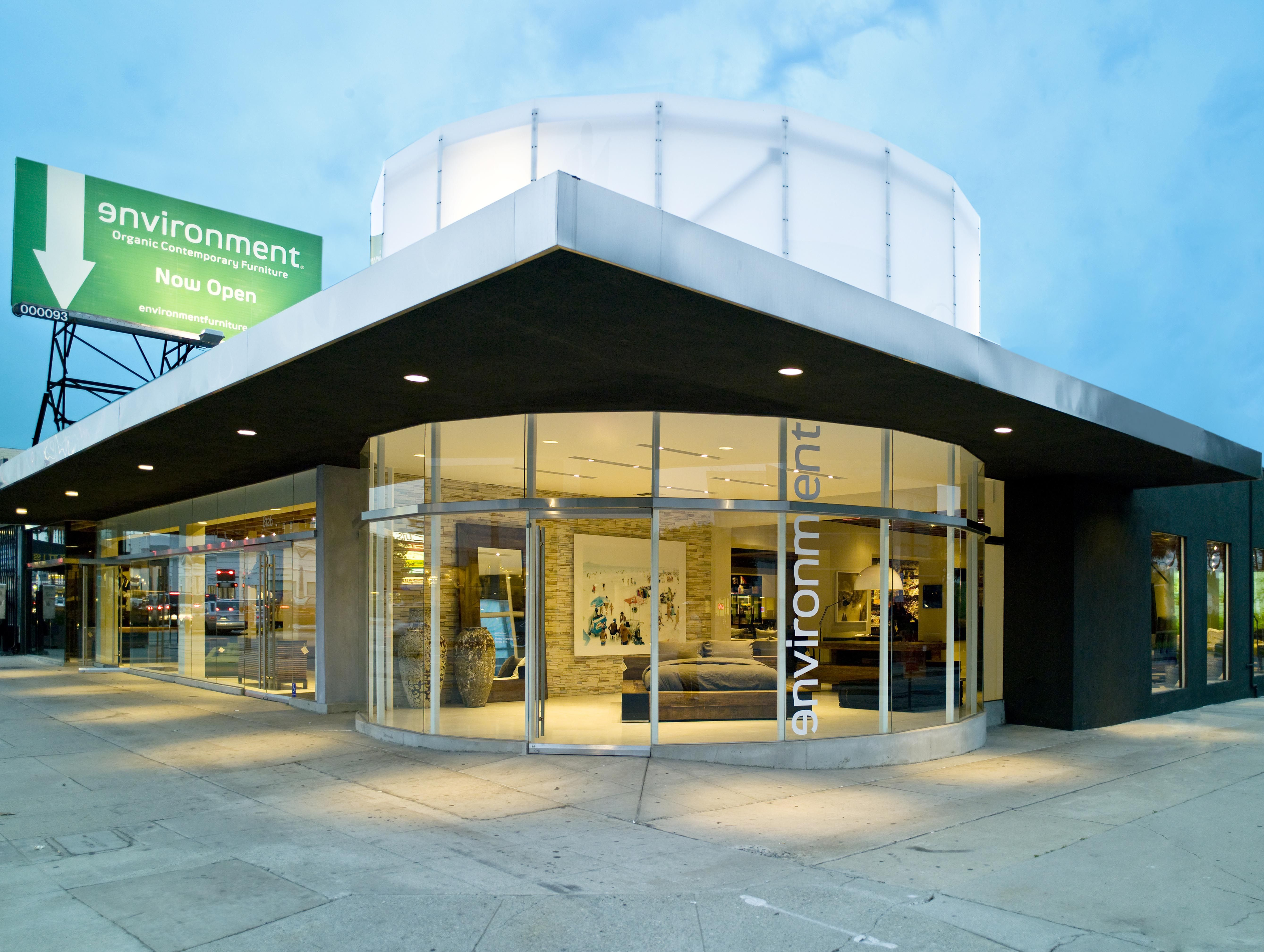 Environment Furniture Los Angeles Front 8126 Beverly Blvd Ca 90048