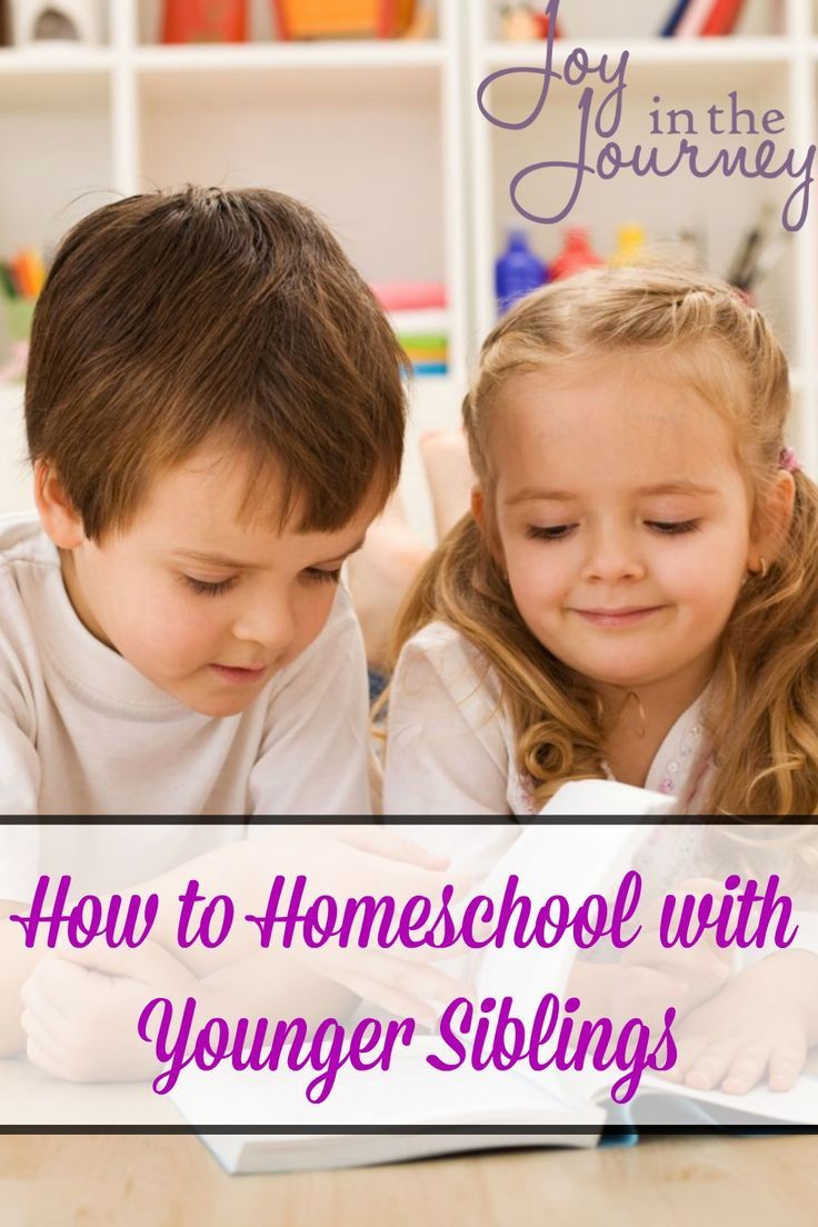 How to Homeschool with Younger Siblings Homeschool