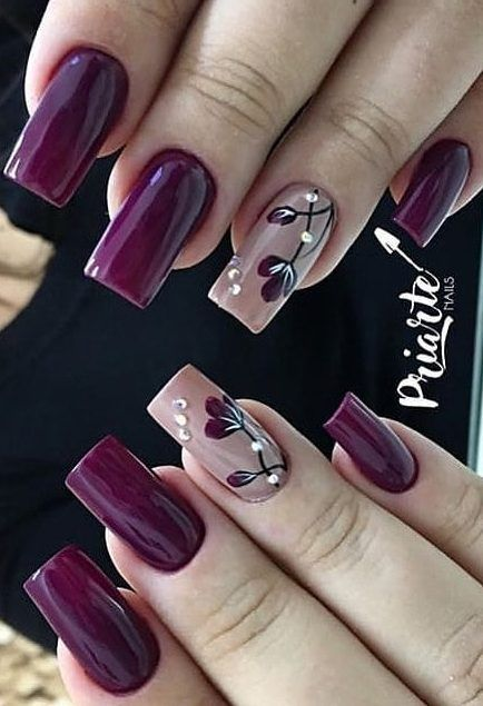 44 Stylish Manicure Ideas for 2019 Manicure: How to Do It Yourself at Home! – Page 15 of 44