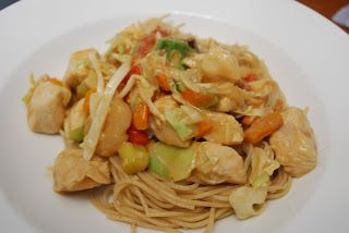 Cooking This and That: Peanut Chicken Stir Fry