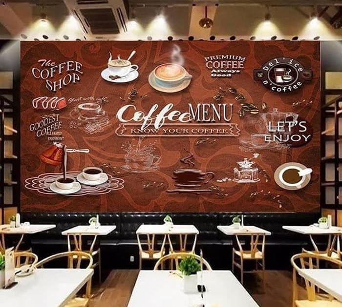 Terkeren 30 Wallpaper Dinding Cafe Kopi- Jual Wallpaper ...