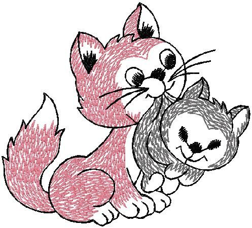 Mom Cat Embroidery Design For Free Download Free Embroidery