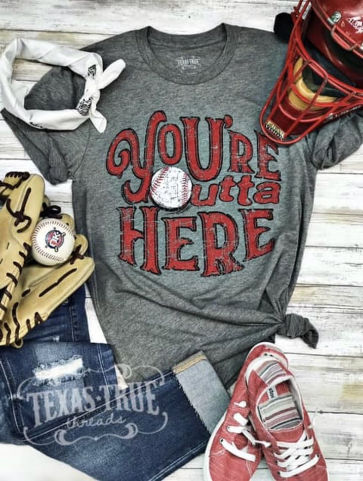 Photo of Outta Here Tee by Texas True Threads
