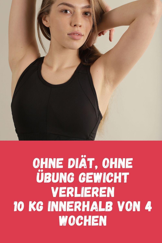 Diät, um ohne Bewegung schnell Gewicht zu verlieren