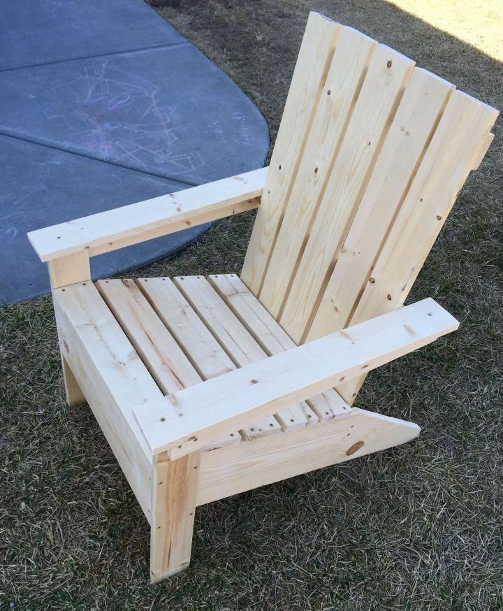 Adirondack chair build diy free building