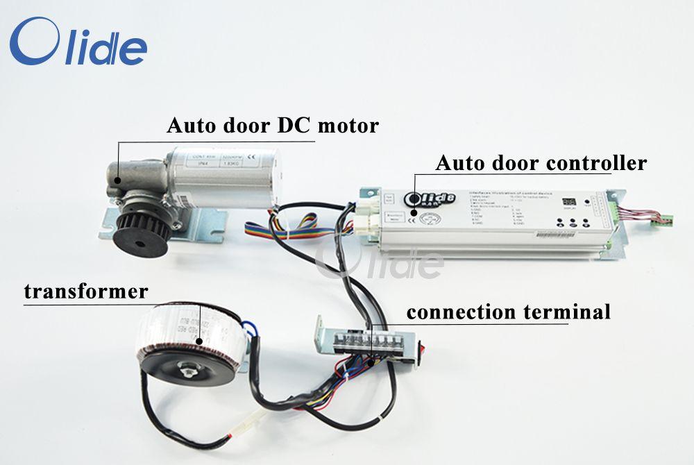 Automatic Door Controller Motor Power Terminal Transformer