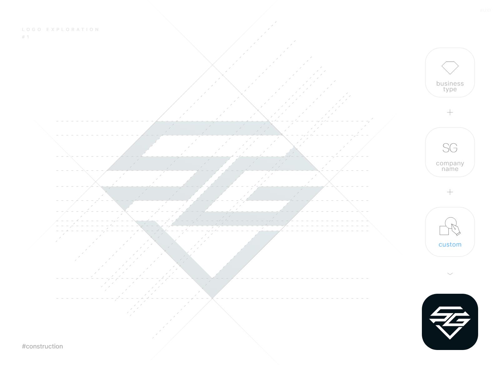 sg logo exploration 1 sg logo logo design creative logos sg logo exploration 1 sg logo logo