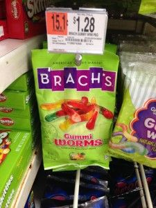 MONEYMAKER Brach's Gummi Worms at Walmart after Coupon (Only 2 Days Left!)