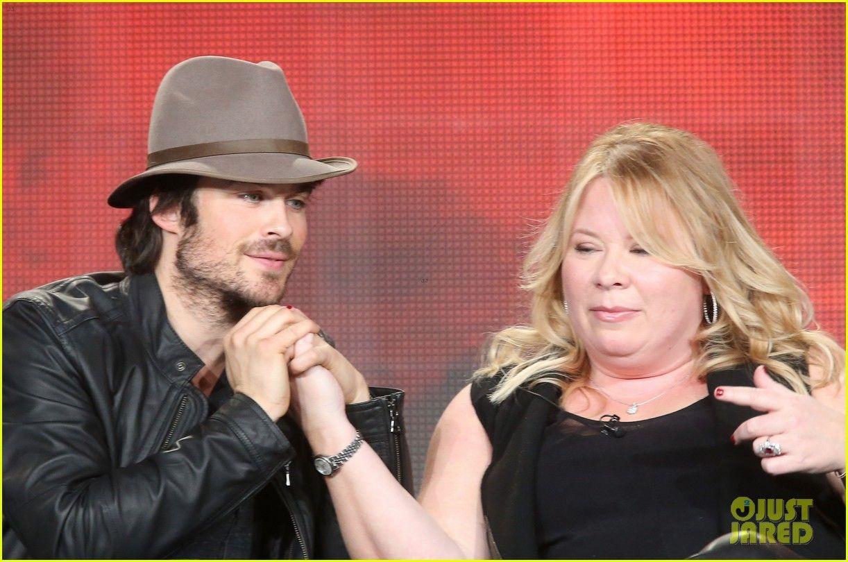 Ian Somerhalder courting his favorite 'Vampire Diaries' writer Julie Plec of the CW