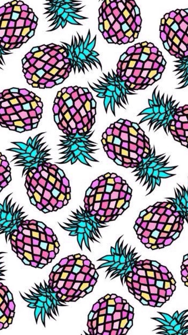 hippe ananasjes achtergrond leuke achtergronden pinterest achtergronden telefoon en. Black Bedroom Furniture Sets. Home Design Ideas