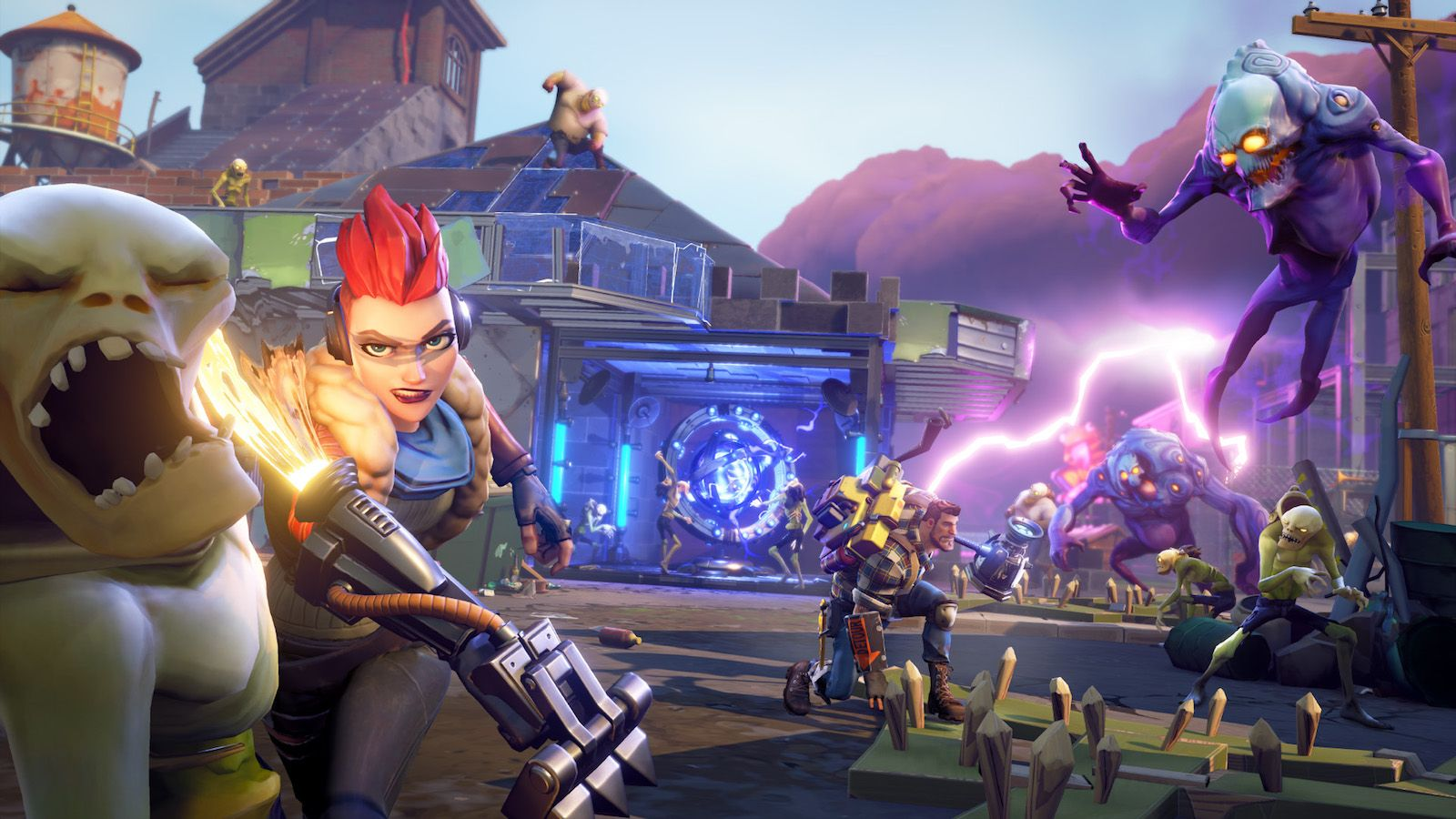 In 'Fortnite,' building is just as important as fighting