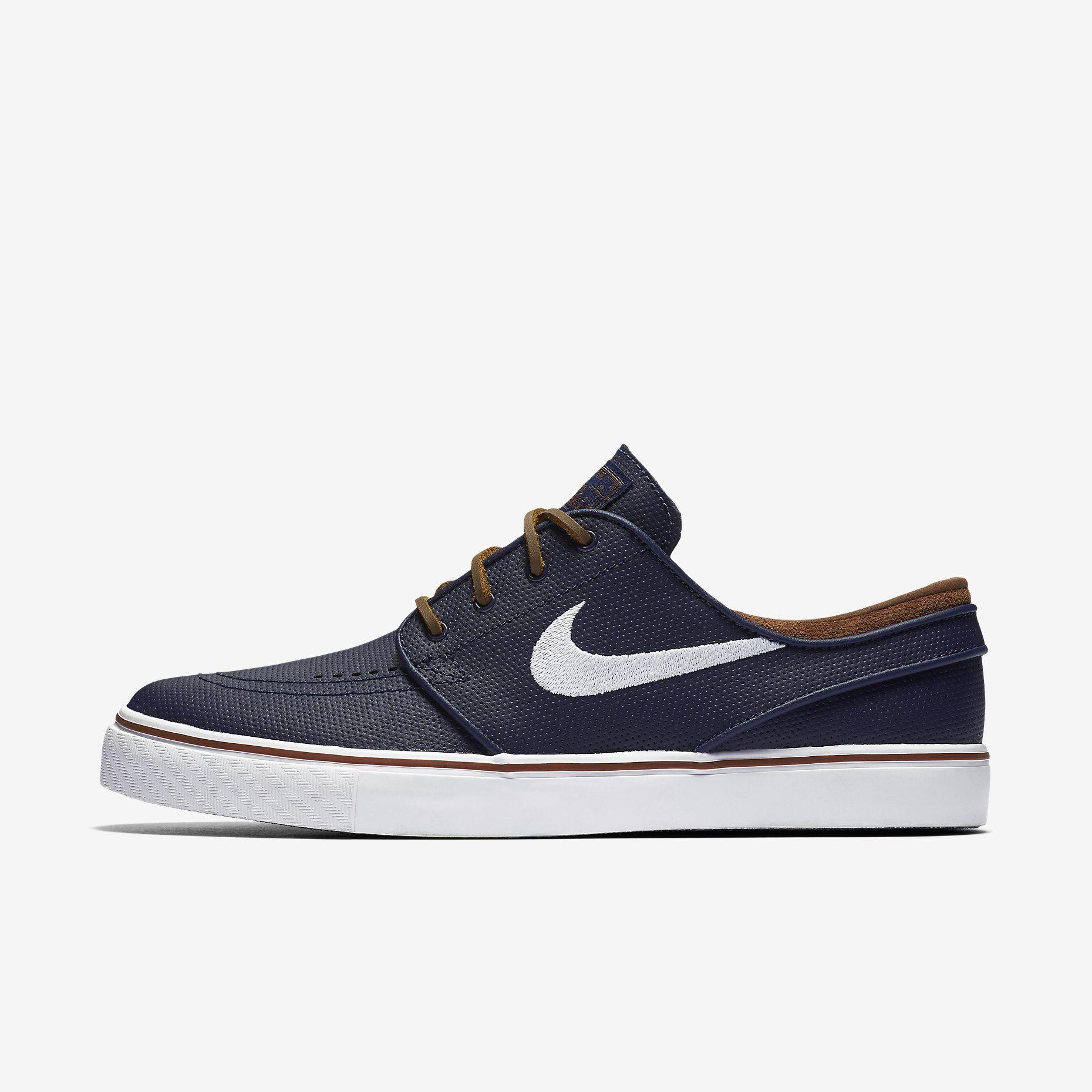 Nike SB Zoom Stefan Janoski OG Men's Skateboarding Shoe Obsidian/Rustic/White/White