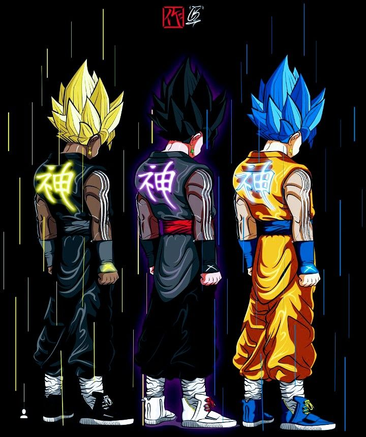 Dragon ball super dope pinterest - Dbz fantasy anime ...
