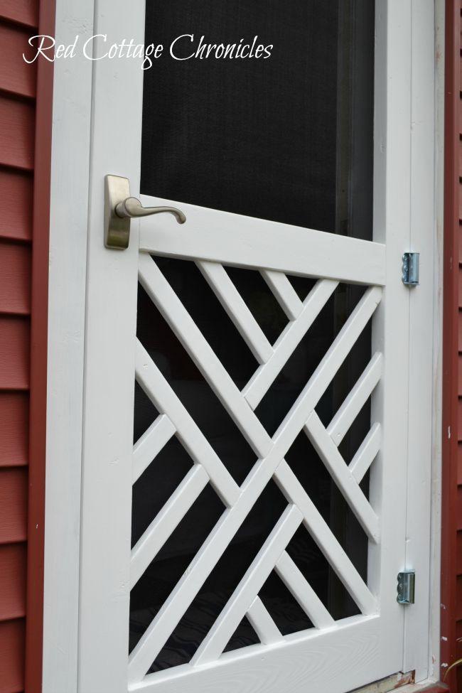 Diy Wood Screen Door Tutorial Pinterest Diy Wood Screens And Doors