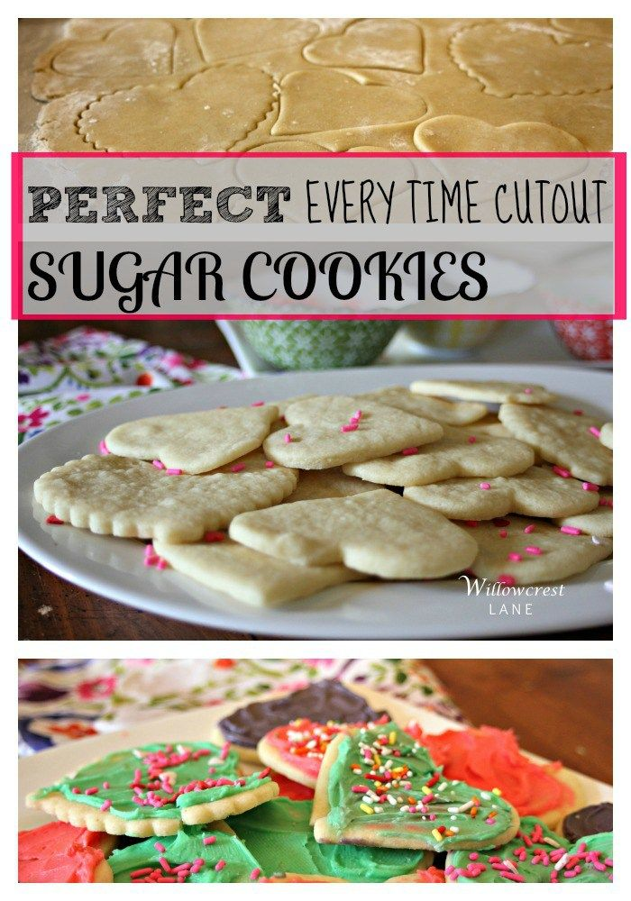 Christmas Cutout Cookies.Perfect Every Time Sugar Cookie Cutouts