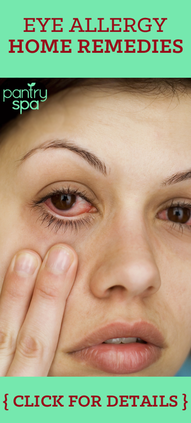 Natural Remedy For Burning Red Eyes