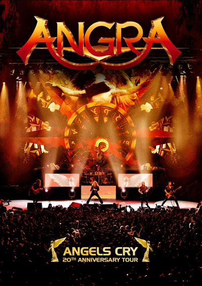 Angra - DVD Angels Cry 20th Anniversary Tour (2013)