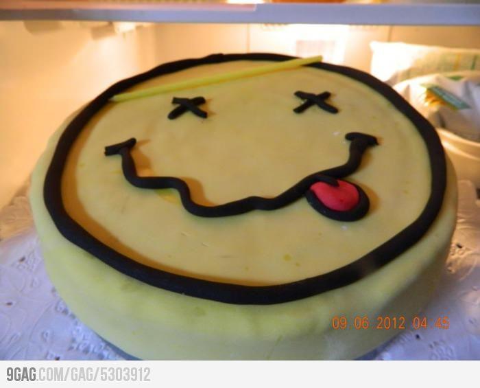 This cake smells like teen spirit School cake Teen boys and Teen