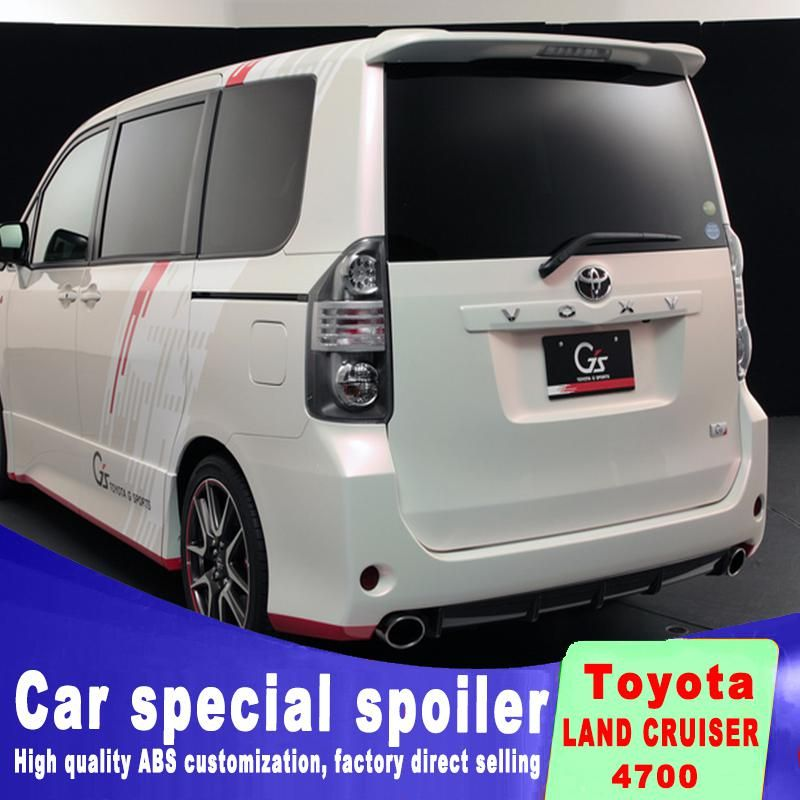 Warning Light Abs Punching High Noah Spoiler High Quality Voxy Spoilers Custom Made Wing Primer Color En 2020